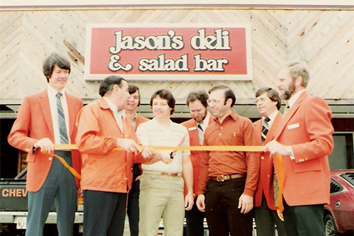Jason's Deli was originally founded in 1976 with a single location in Beaumont, Texas