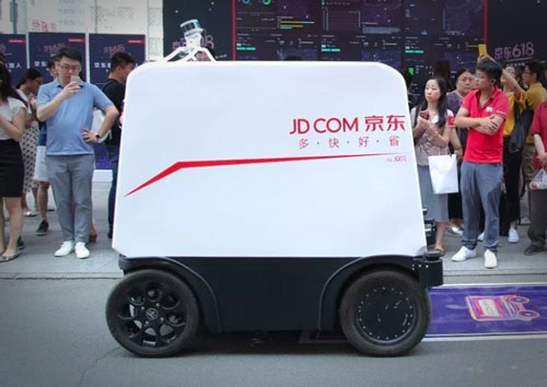 JD.com investing in driverless vehicles. Source: pandaily.com