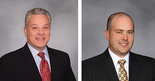 Jeff Grever, Vice President of Corporate Accounts (Left) & Bryan Langston, Vice President of Warehousing (Right)