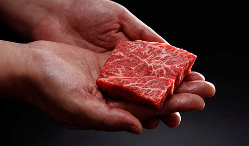 The cell-cultured Wagyu beef is currently in the development stage