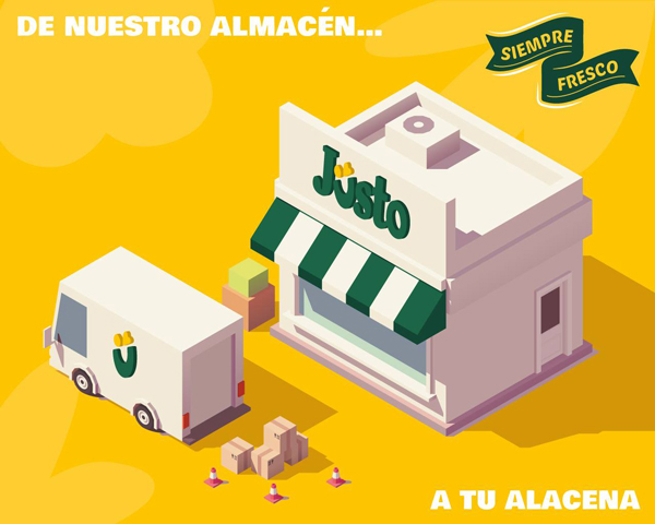 """""""From our store to your cupboard"""" embodies the motto of Mexico City-based, delivery-only grocery store chain Jüsto, which recently raised another $12 million in financing as it looks to expand its dark store format across Mexico"""