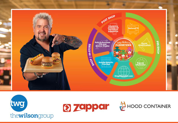 Created with omnichannel agency partner The Wilson Group, AR platform and creative studio Zappar, and Hood Packaging Corporation, KING'S HAWAIIAN is taking consumers on a scavenger hunt in a breakthrough omnichannel campaign