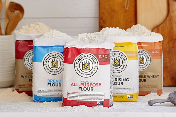 King Arthur Baking Company recently completed a rebrand to reinforce what the company has always been: a company of bakers who believe in the power of baking to forge community and bring joy