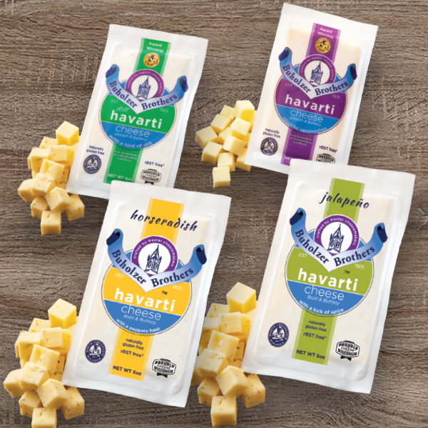Klondike Cheese Company is adding a Jalapeño Havarti and a Horseradish Havarti to its current line of Buholzer Brothers Cheeses