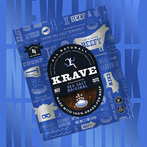 """This comprehensive brand refresh, addressing consumer preferences and highlighting the brand's unceasing mission to """"KRAVE Better,"""" comes just in time for National Jerky Day on June 12"""