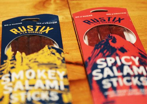 Rustix Salami Sticks - Smokey and Spicy Flavors