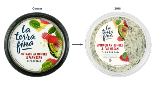 This year La Terra Fina is introducing new products and new packaging to continue its forward momentum