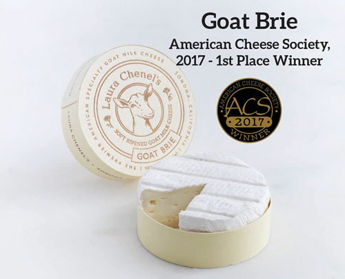 Laura Chenel's 5-ounce Goat Brie