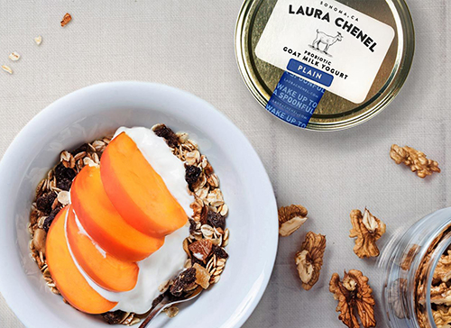 Building on the success of its award-winning fresh and aged cheeses, the company has expanded distribution of Laura Chenel Probiotic Goat Milk Yogurt