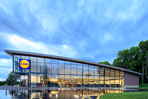 Lidl has opened a new €100 million ($110 million USD) distribution center in Ireland, which was constructed with sustainability in mind
