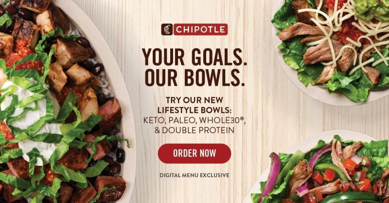 Launching a new collection of Lifestyle Bowls just in time for prime New Year's resolutions time, Chipotle is revamping its menu to incorporate trend-forward diets into healthy and delicious menu items