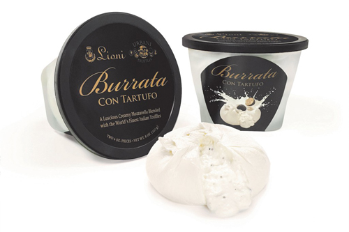 Lioni Latticini took home 1st place in the Flavored Cheese category for its Burrata Con Tartufo