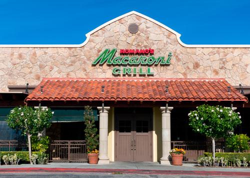 Romano's Macaroni Grill restaurant