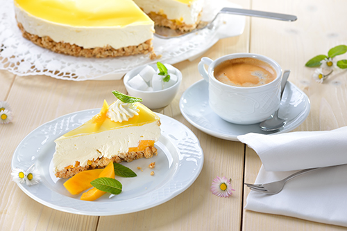Key trends include Latin-inspired flavors like mango cheesecake