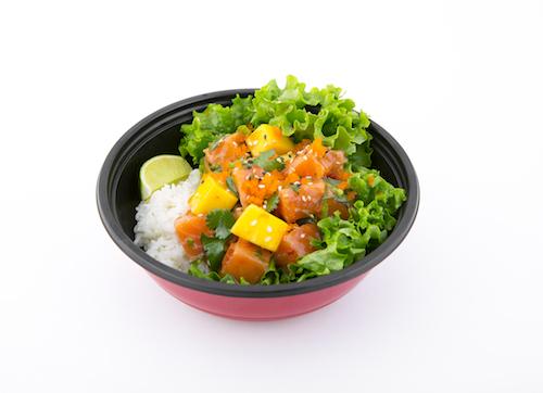 Mango Salmon Poke Bowl