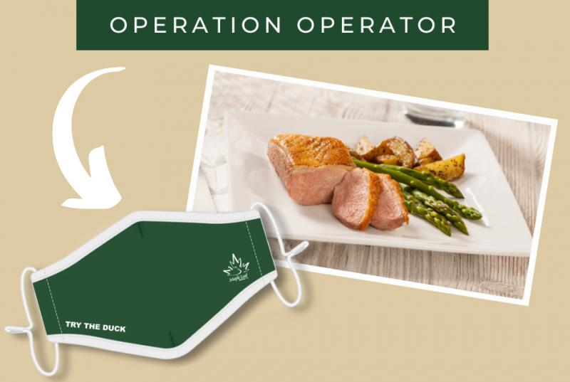 """Maple Leaf Farms has extended the rebate portion of its """"Operation Operator"""" promotion to help foodservice establishments through the holiday rush"""