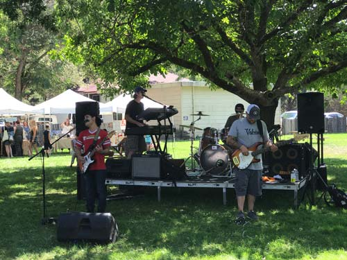 Live music at the picnic