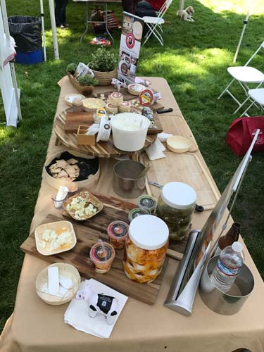 Marin French picnic spread