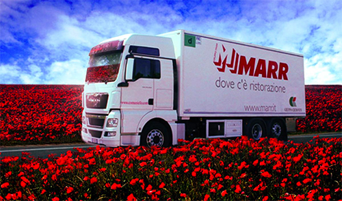 The acquisition of MARR would be Sysco's first move into Italy