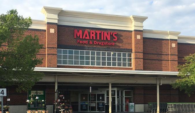 Martin's storefront