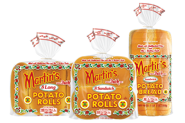 Martin®'s teamed up with distributor Dot Foods to launch its famous potato rolls and bread products to new markets