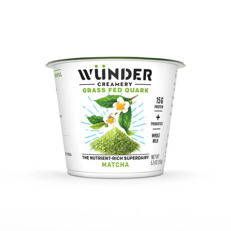 Wünder Creamery offers non-traditional flavors such as matcha