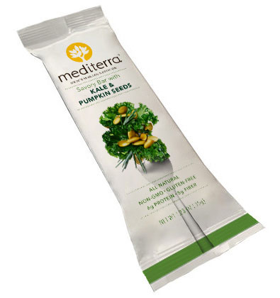 Mediterra Savory Bar with Kale & Pumpkin Seeds