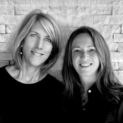 Meg Barnhart (left) and Jane McKay (right)
