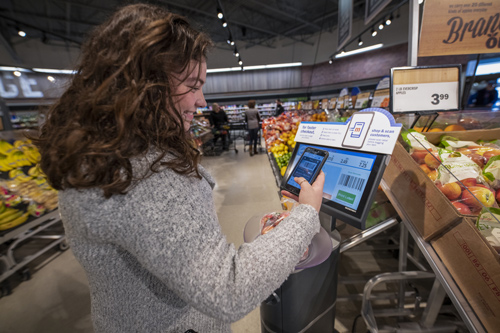 Midwestern retailer Meijer completed a 15-month initiative to offer the Shop & Scan technology at all its stores across the Midwest