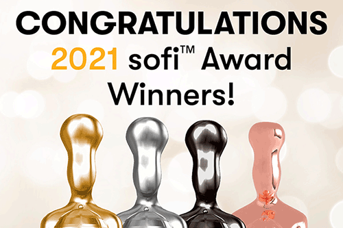 The Specialty Food Association (SFA) recently announced the 2021 sofi Awards, awarding 130 specialty food products with the coveted Gold, Silver, and New Product Awards in 49 food categories