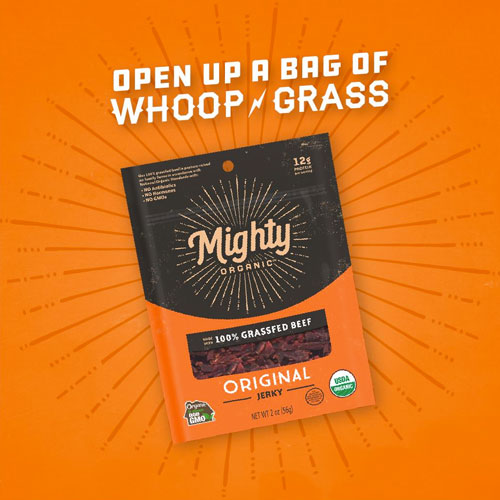 Mighty Organic's clearer focus on the mission of animal care and bolder packaging gives the company a voice to communicate who it is and why what it does is important