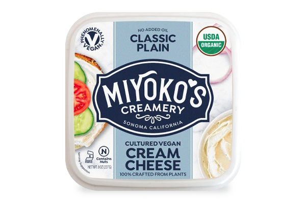 Starbucks is piloting a partnership with Miyoko's Creamery to offer a new affordable, plant-based item