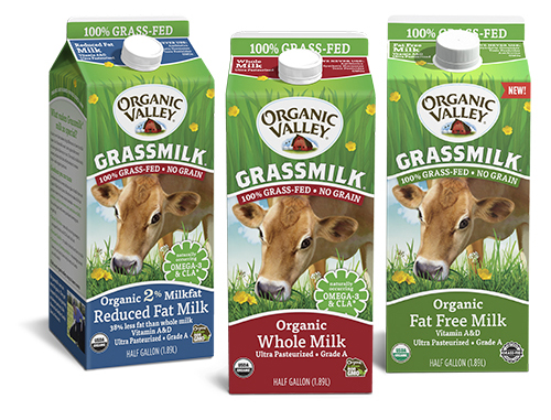 Organic Valley's new Fat Free Grassmilk® is expected to hit retail shelves soon