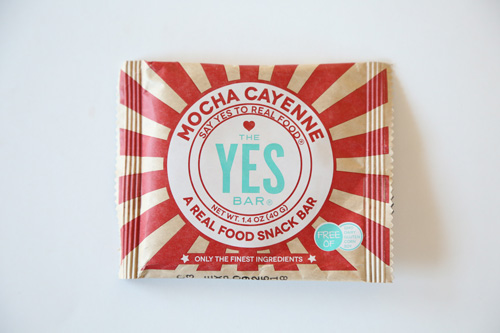 The YES Bar's Mocha Cayenne Bar
