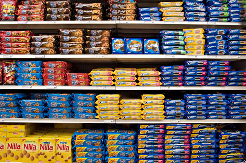 Chips Ahoy, Nilla and Oreo are among the foods made by Mondelez