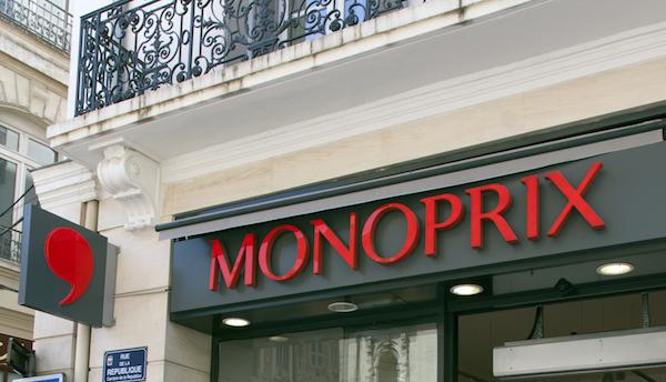 Monoprix storefront