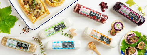 Goat cheese products from Saputo's recently-acquired Montchevre brand