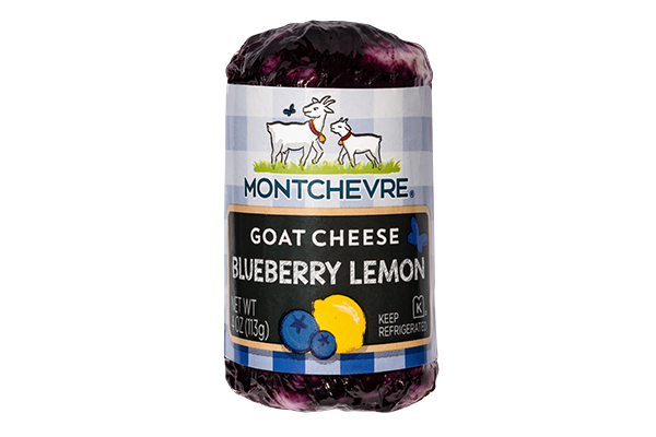 Montchevre®, a Saputo brand, recently unveiled a new goat cheese product, the Blueberry Lemon log
