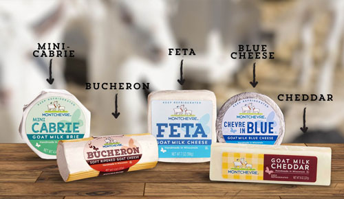 Montchevre Goat Cheese products