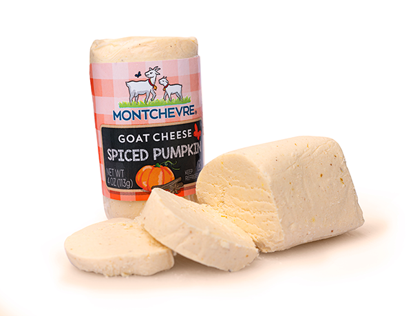 Montchevre® is combining autumn's top flavors with the company's fan-favorite tangy goat cheese to launch its new and improved seasonal flavor: Spiced Pumpkin