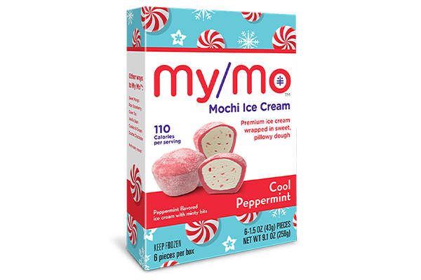 My/Mo Mochi Ice Cream is meeting holiday demands with the rollout of its limited-edition flavor Cool Peppermint