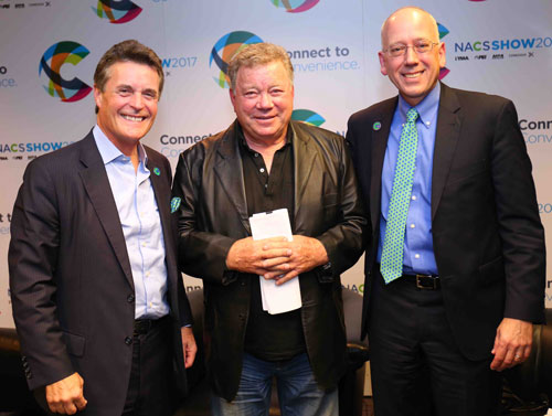 Henry Armour, William Shatner, & Jeff Lenard