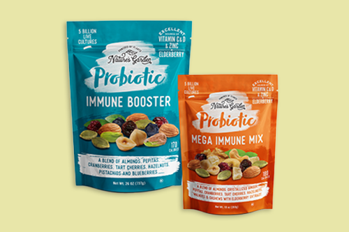 Cibo Vita has expanded its popular Nature's Garden line with the debut of its new Probiotic Immune Booster and Probiotic Mega Immune Mix