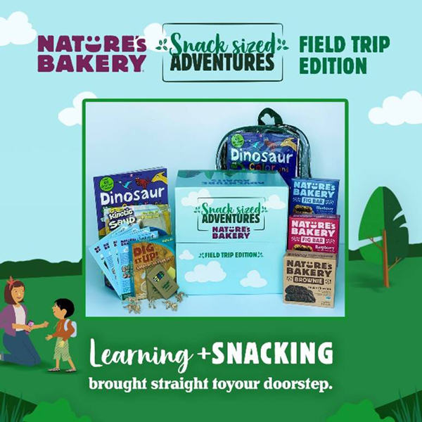 Nature's Bakery has launched a new campaign headlined by its Snack Sized Adventures: Field Trip Edition at-home kits