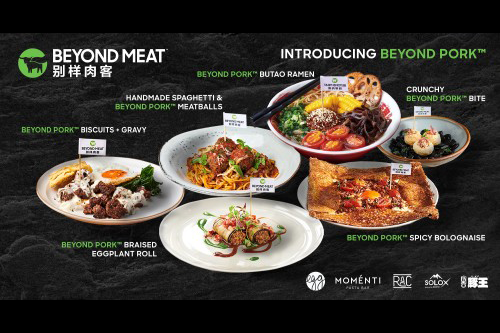 At Beyond Meat's® special VIP launch, chefs from the five restaurants were tasked with using Beyond Pork™ in their dishes, ranging from RAC's Beyond Pork Spicy Bolognaise to Tun Wang's Beyond Pork and Shiitake Wonton Noodles