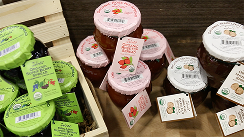 Dalmatia recently released three new products: Organic Super Berry Spread, Organic Rose Hip Spread, and Organic Hazelnut Spread