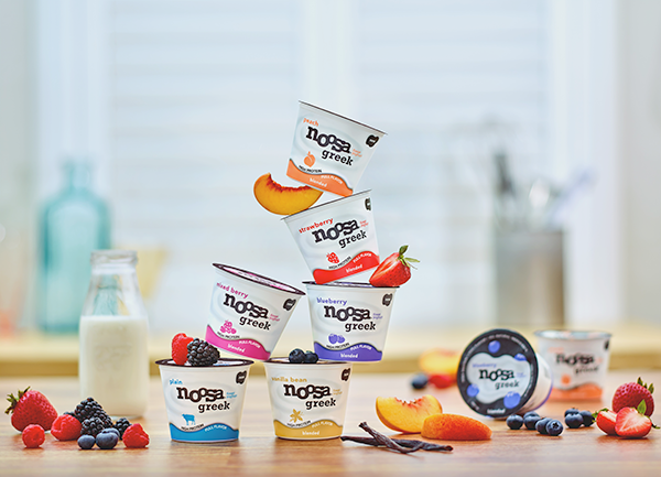 noosa pivoted its new line of high protein, low sugar yoghurt as noosa Greek
