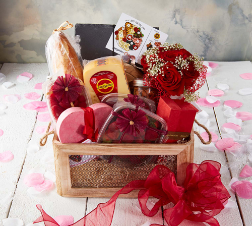 "The series kicked off last month on Valentine's Day with a ""Just for Bae"" gift basket"