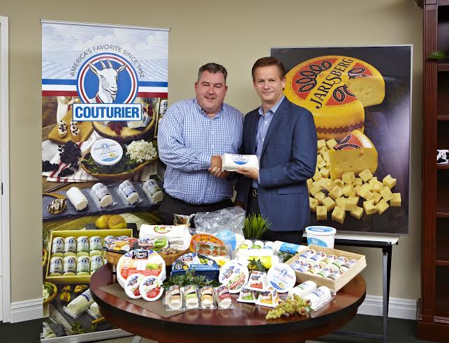 Pierre Guerin, President of Couturier LLC. and John Sullivan, President and CEO of Norseland Incorporated.