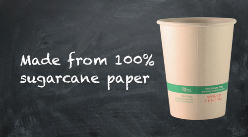 The new NoTree hot cups and bowls perform as well as traditional wood paper cups and bowls lined with polyethylene
